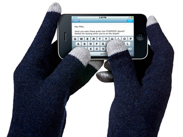 fivepoint Fivepoint conductive fingertip gloves for cold winter touchscreen tapping