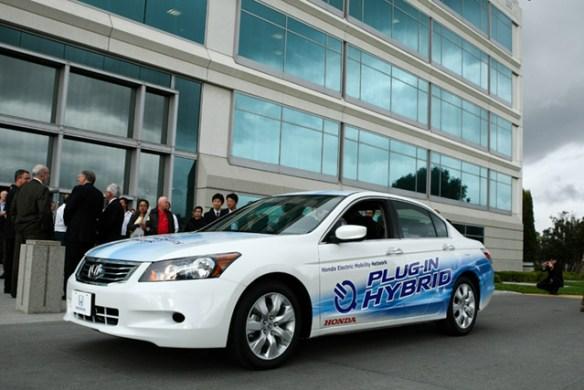 accord-ev-1 Honda announces Fit and Accord pilot program for California
