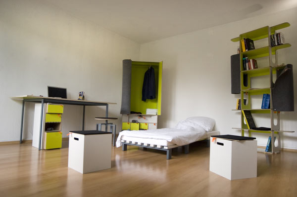 casulo_detail_08  Casulo shoves full bedroom in four-foot box