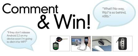comment2win-th2 CONTEST: Mobile Magazine Gadget Grab Bag Giveaway!