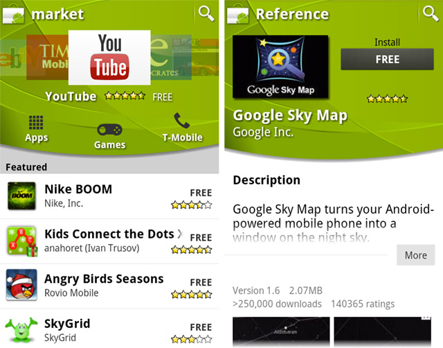 google-android-market  Google's Android Market about to get an extreme makeover