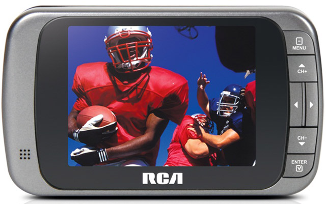 RCA_DMT335R-640 RCA first to release a true mobile TV experience