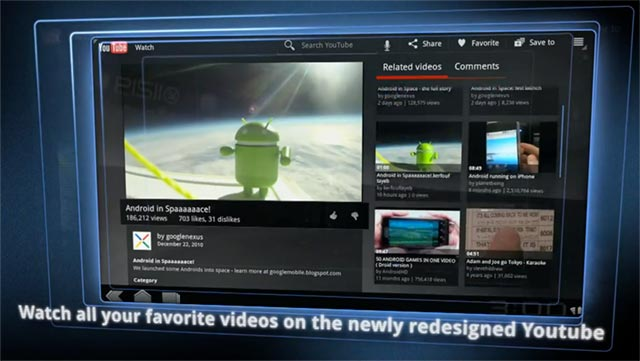 android-3.0-honeycomb-2 Google teases with Android 3.0 Honeycomb video for tablets