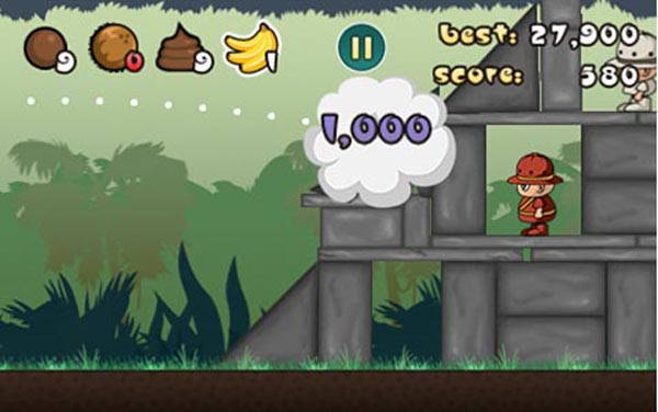 angryturds1 Angry Birds leaves trail for Angry Turds iPhone game