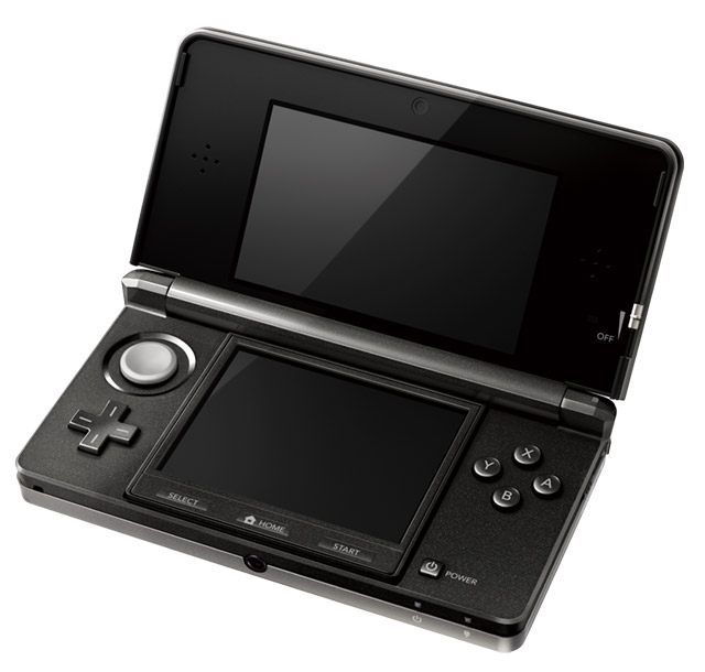 nintendo-3ds-black-1 Nintendo 3DS launch set: $250, March 27, universal friend codes