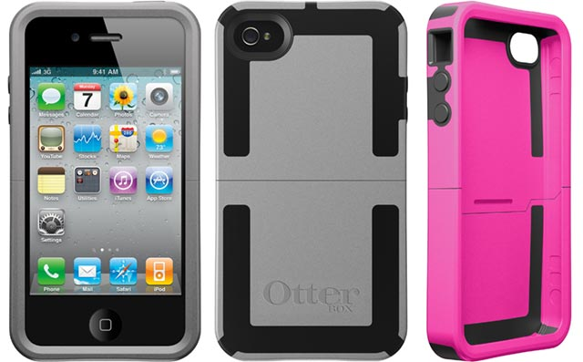 otterbox-iphone4 OtterBox Reflex series smartphone cases built to take one for the team