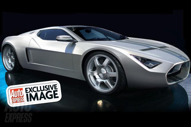 ford Ford GT supercar gone green?