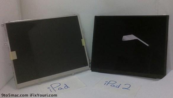 ipad2 iPad 2 display leaked