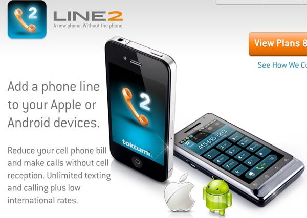 line2 Line2 brings voice and data multitasking to Verizon's iPhone