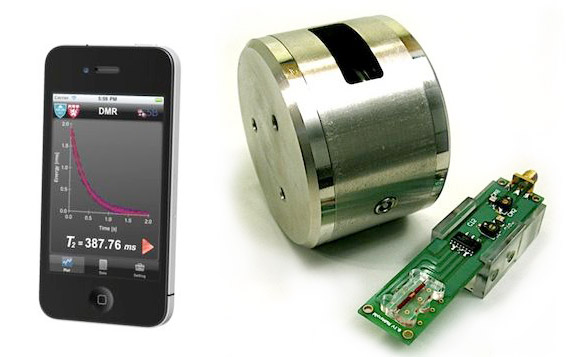 portable-Nuclear-Magnetic-Resonance-device Micro-NMR Device Uses Smartphone to Diagnose Cancer Faster, More Accurately