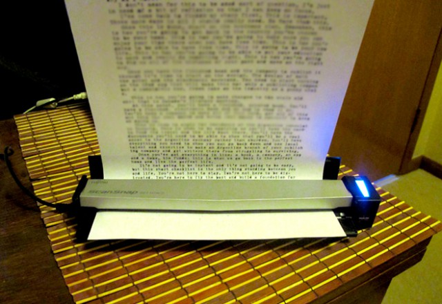 snapscan-640x440 Fujitsu ScanSnap S1100 Portable Scanner Review