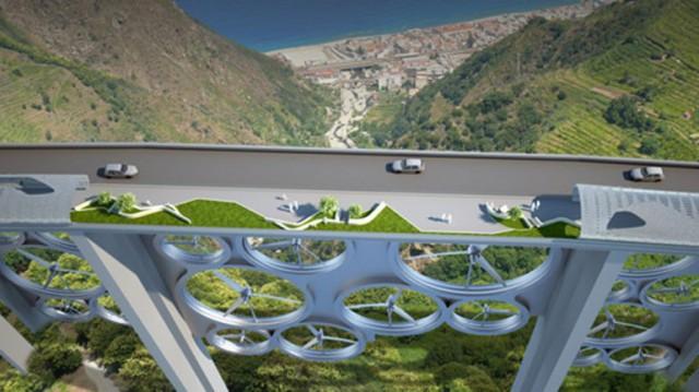 solar-wind-bridge-640x359 Cool bridge made of 27 wind turbines