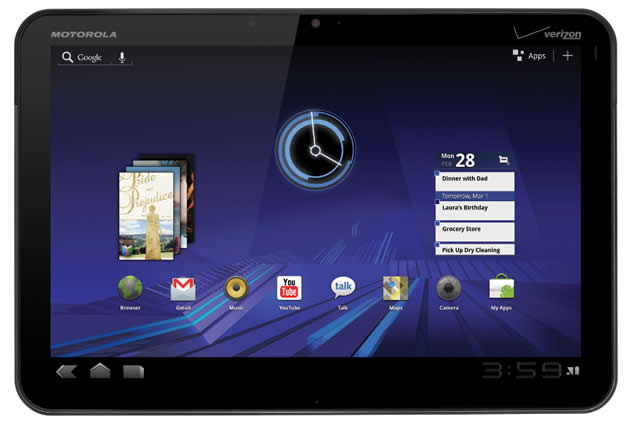 xoombig Best Buy to start selling Motorola XOOM tablet this month