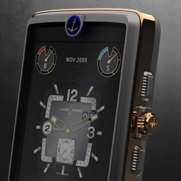 Ulysse-Nardin-Chairman-Phone-3-640x640 Steampunk-Chic Ulysse Nardin Chairman Android Phone Costs $50,000