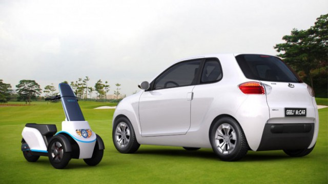 geely-mccar-combines-car-and-motorcycle-640x359 Can't Decide Between Car or Scooter? Get the McCar from Geely