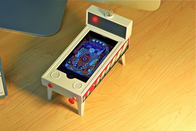 "pinballmagic  iPhone Goes Retro with Pinball Magic ""Appcessory"""