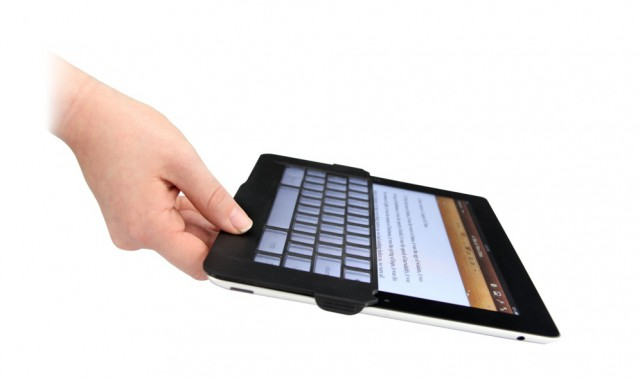 OnehandLifting_SiloHRa-640x379 iKeyboard Adds Tactile Feel to iPad Keyboard