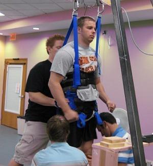 robsummers Paralyzed Man Stands and Takes Steps After Spinal Implant