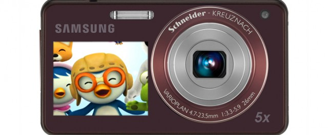 samsung-st700-640x263 Samsung 2View Camera Adds Cartoons To Get Kid's Attention