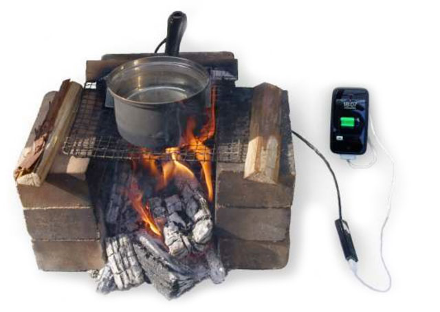 potcharger How about charging that smartphone over a campfire?