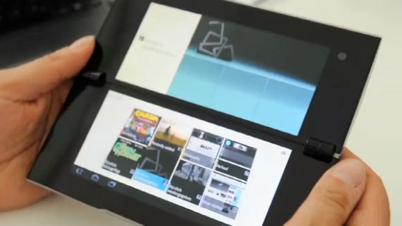 sony-s2 A full 18 seconds of video bliss with the Sony S2 tablet