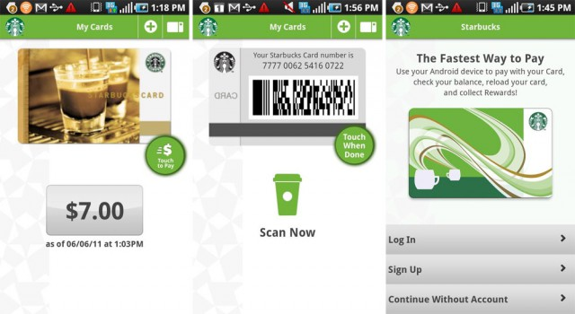 starbucks-android-640x350 Pay for your frappalatte with Android