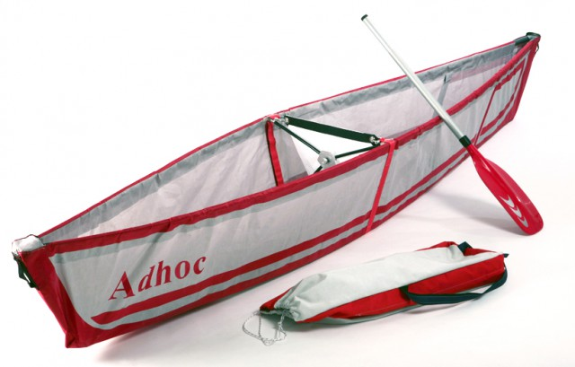 adhoc-carbon-fiber-canoe-640x409 Take-away canoe fits in backpack, assembles in under five minutes