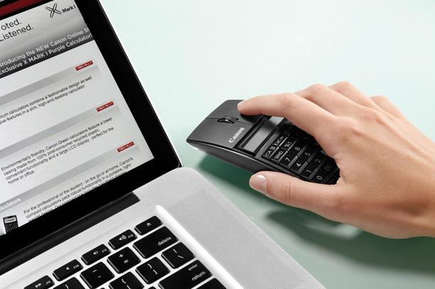 canon-xmark-03 Canon's wireless calculator mouse is an accountants dream come true