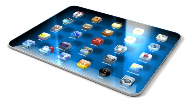 ipad-3-640x342 Apple iPad 3 mockup emerges with 3D edge-to-edge AMOLED display