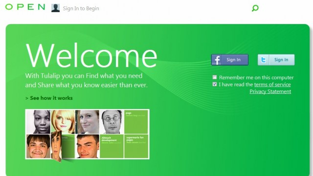 microsoftsocltulalip1 Microsoft 'Leaks' Social Networking Website