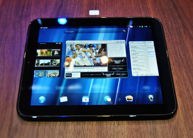 HP-touchpad HP TouchPad webOS tablet slashed down to just $399