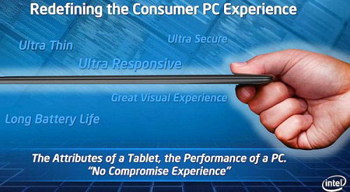 Intel-Ultrabook-Slide  Intel fueling all day lasting Ultrabooks with $300M injection