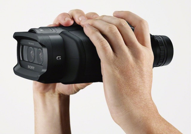 Sony-DEV-5-640x448 World's first 3D, HD-recording binoculars set for release from Sony