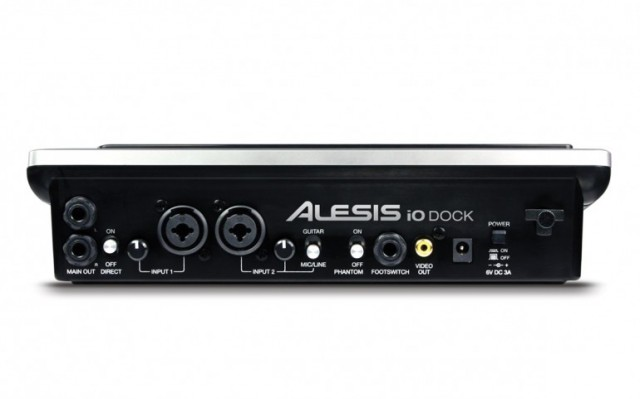iodock-2-640x399 iPad turned studio with Alesis iO Dock