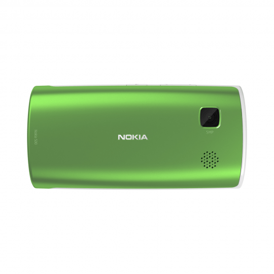 nokia-500-green Nokia 500 gets 1GHz CPU, powered by Symbian ANNA