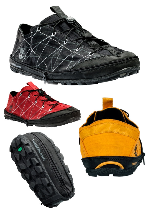 timberland_radler1 Timberland Radler trail camping shoes zip into themselves