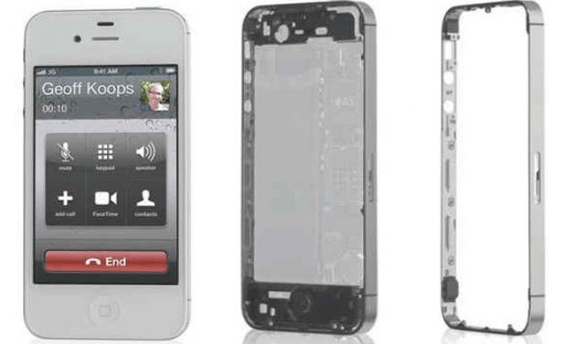 111010-ip4s iPhone 4S antenna design infringes on Samsung-owned patent