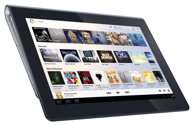 111019-sony Tablet Support Added to Sony Music Unlimited v1.2 for Android