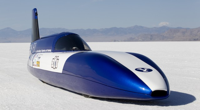 student-built-ev2-640x353 Lightweight Electric Vehicle Sets World Land Speed Record at 155.8 mph