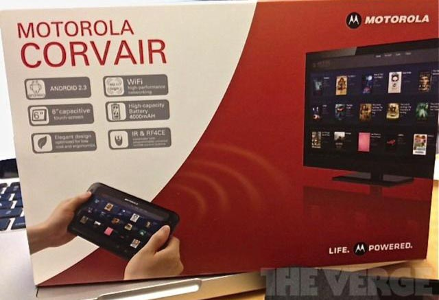 111107-motorola Motorola Corvair Android-Powered TV Remote Control Is A Tablet