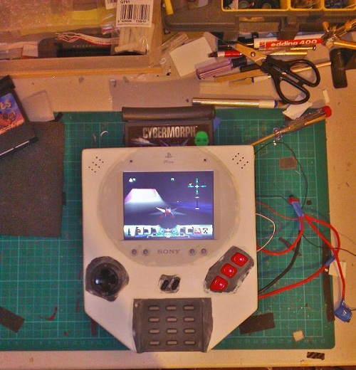 portable-jaguar-mod Portable Atari Jaguar Mod By Evil Nod [Video]