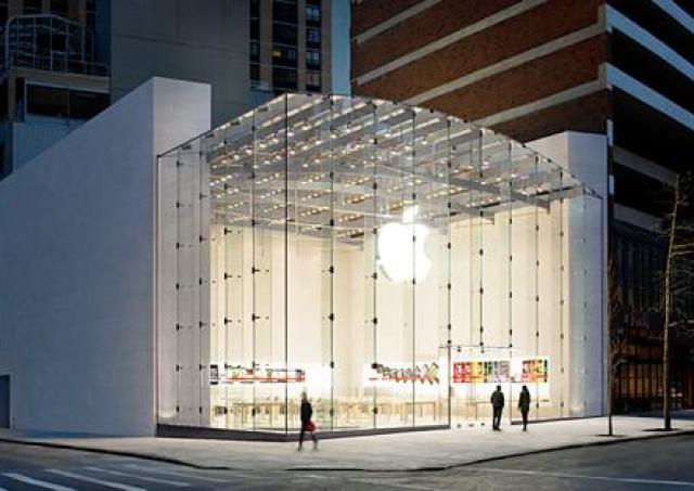 upperside New Apple Store In Palo Alto