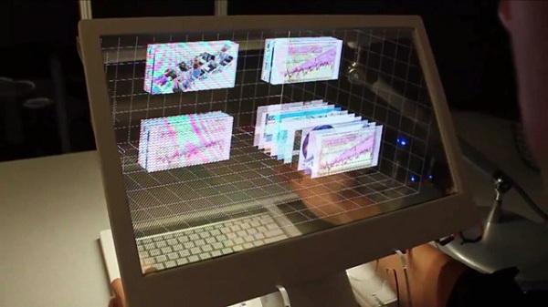 Microsoft-transparent-3D-desktop Microsoft's Transparent 3D Desktop (Video)