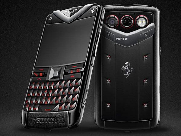 vertu_constellation_quest_ferrari Vertu's Constellation Quest Ferrari Phone Makes The Blackberry Porsche P'9881 Look Uglier Than Ever