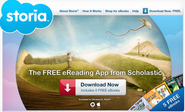 120307-storia Scholastic Enters 21st Century with Storia eBook Platform for Kids
