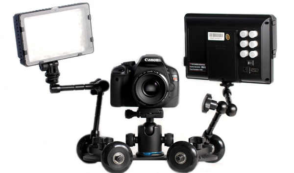 120327-revolve Revolve Affordable Camera Dolly for Smooth, Dynamic Video