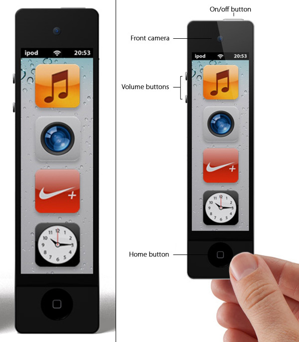 120330-ipod3 iPod Nano Touch Concept Gets Longer and Smarter