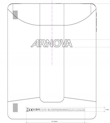 FCCarnova Archos Arnova 9 G3 tablet Hits The FCC Website