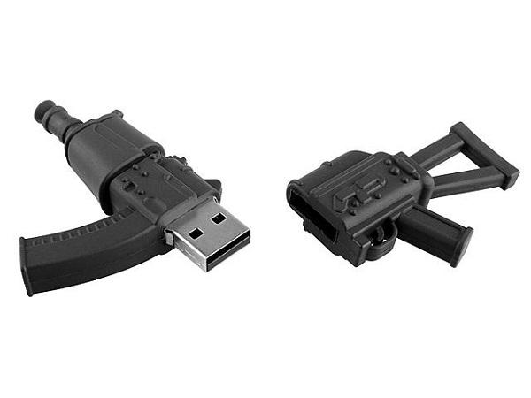 usb-ak47 USB AK-47 Assault Rifle Flash Drive