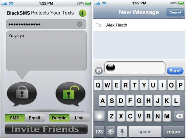 Black-sms-iphone-app Black SMS: The iPhone App Any Sexter Would Love